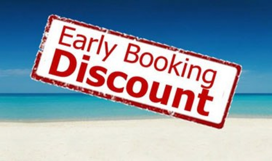 Earyl booking discount